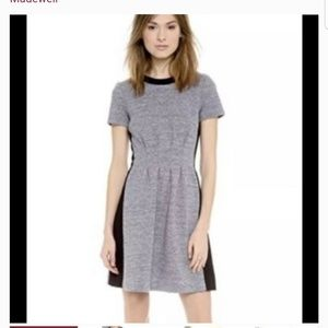 Madewell black & grey  dress